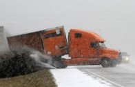 30 Most Shocking Truck Crashes Winter 2014