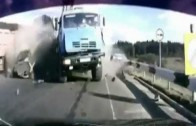 Accidents. Crazy in the Russian Highway 27.