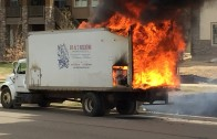 Anthem Insulation Truck Fire