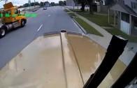 Dumb rookie truck driver