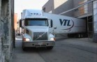 Backing up in Cincinnati OHIO with VTL TRANSPORT!