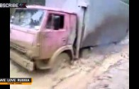 Compilation of Russian trucks in Extreme conditions