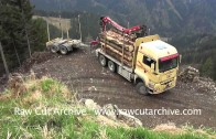 Epic Lorry 3 Point Turn on the Side of a Mountain /15B-PD2-008