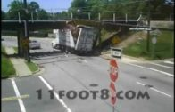 Trucks That have Hits Massachusetts Train Bridge…