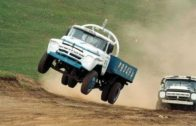 Russian Flying Truck Racing