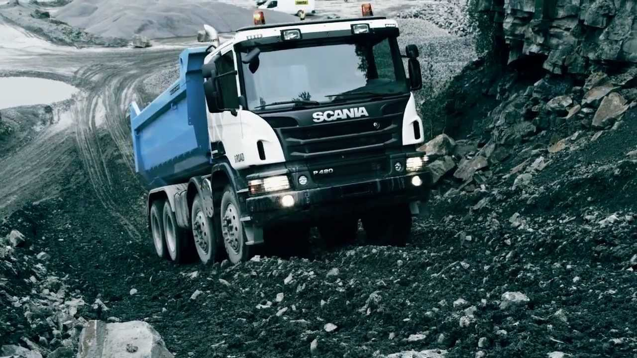 the new scania off