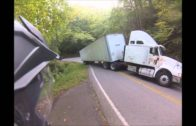 STUPID SEMI on the tail of the dragon