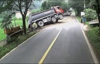 heavy equipment accidents caught on tape, heavy equipment disasters, heavy equipment operator fail