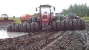 Tractors Stuck in Mud 2017