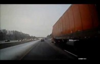 fatal truck crash caught on tape