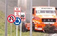 1000 HP Truck Crash into Ditch