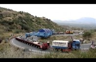 Oversize Load Trucks – Climbing the Hills