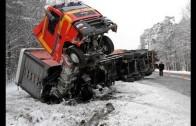 Truck Crashes Compilation || Car Crashes 11