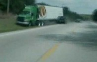 Gruesome accident video SUV crash caught on tape 03-02-09