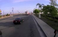 Truck runs over Mercedes Hood (DASH CAM)