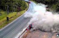 Crashes of Truck Too Wild