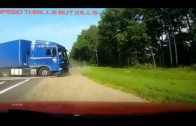 HIGH SPEED Truck Accident _ DAF XF Ruined The HIGHWAY