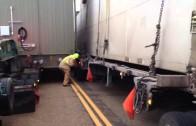 2 big loads. 1 small highway.