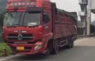 LiveLeak – Truck without front wheels busted by police
