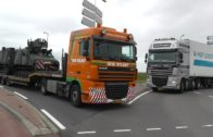 Trucks, including convoi exceptionnel, military transport part 1 of 2, 20-9-2013